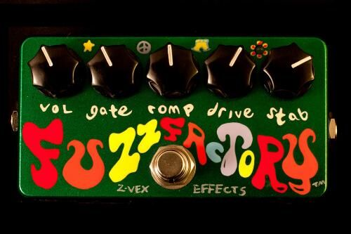 Z. Vex Fuzz Factory (Hand Painted)