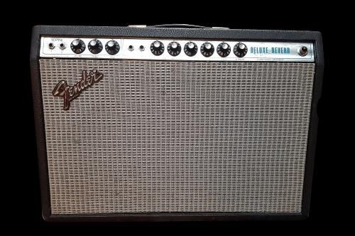 Fender Silverface Deluxe Reverb (S-IV)