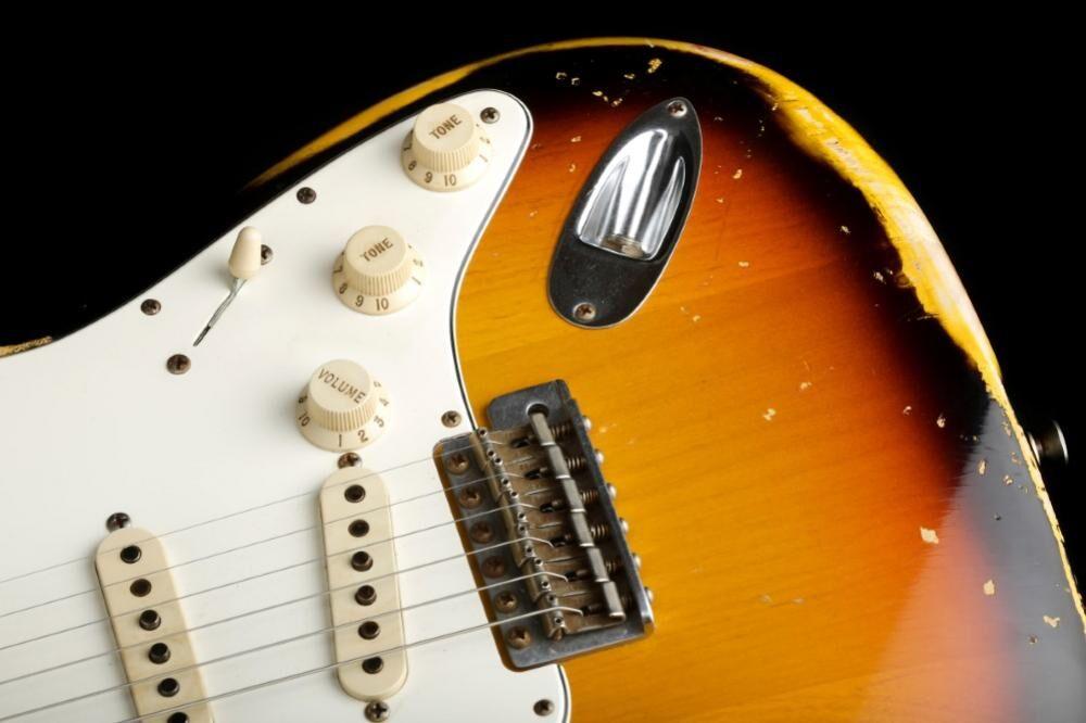 Fender Custom Shop '60s Duotone Stratocaster Relic (C-II)