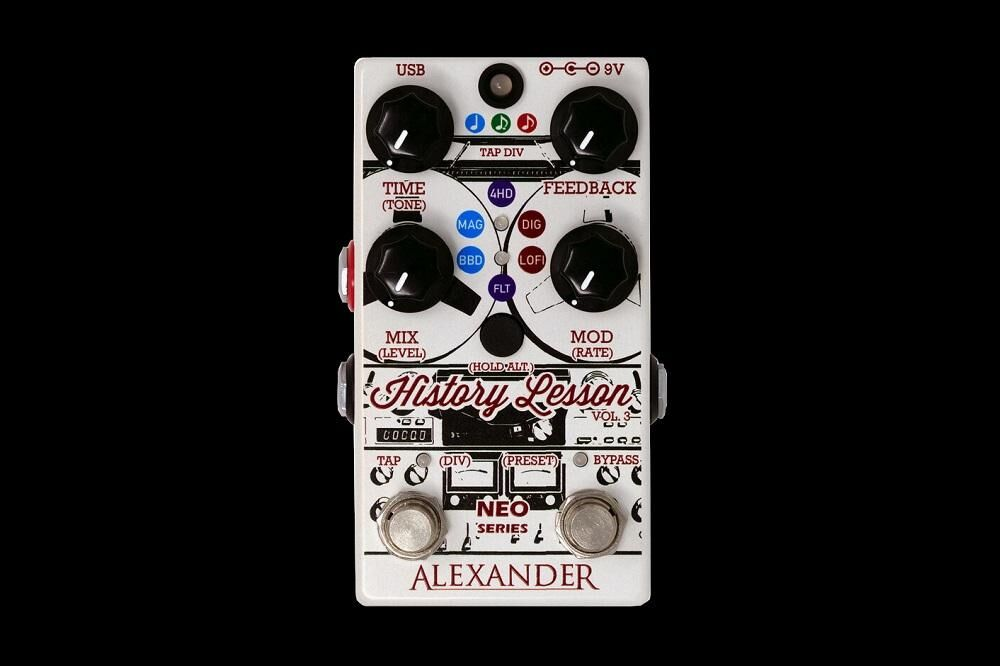 Alexander Pedals History Lesson
