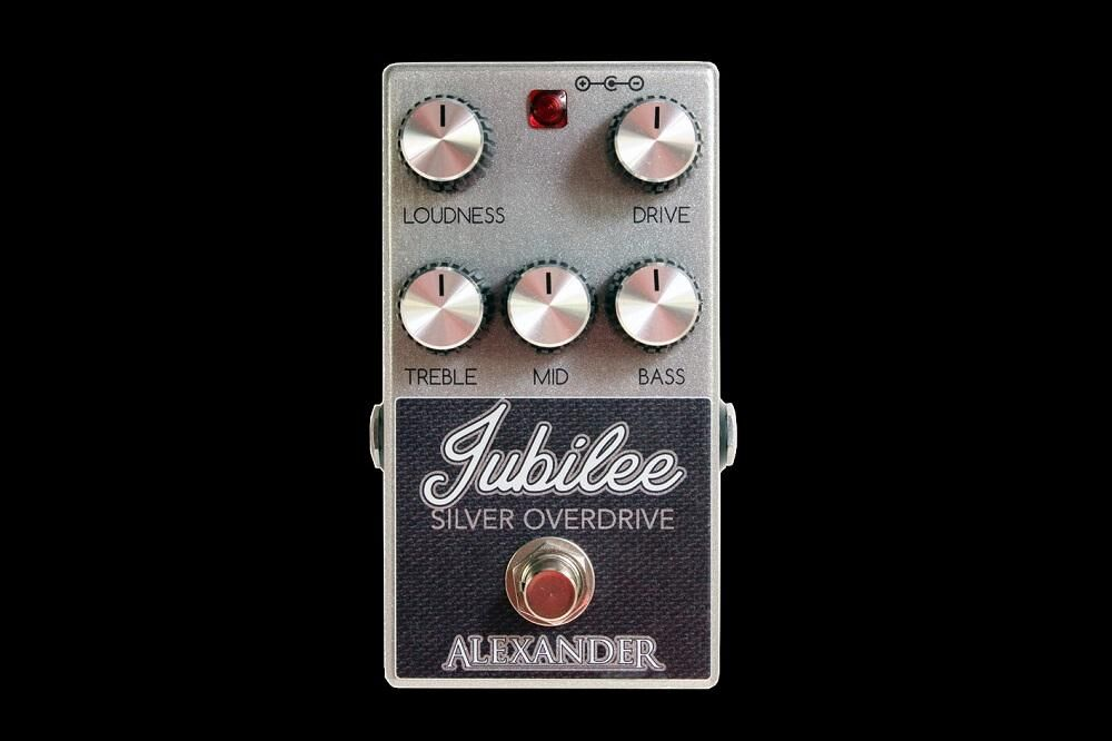 Alexander Pedals Jubilee Silver