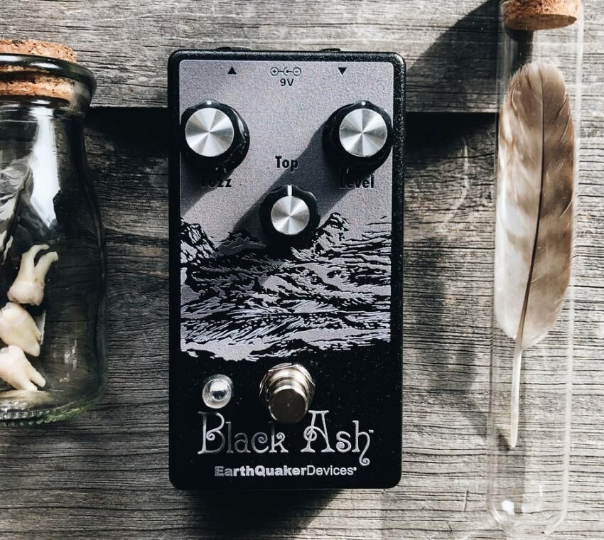 Earthquaker Devices Black Ash Limited Edition