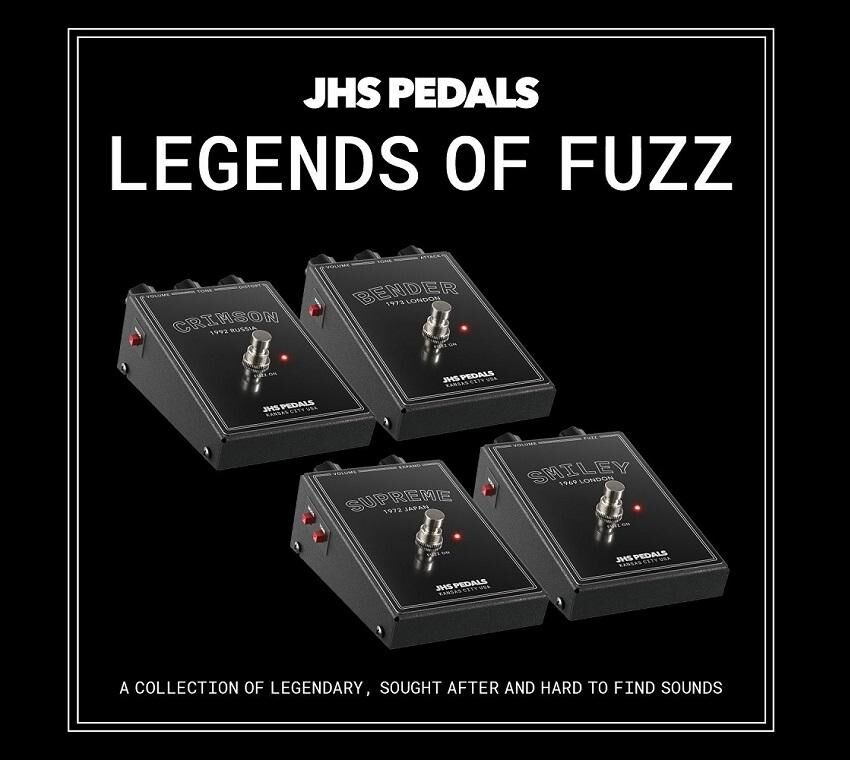 JHS Legends of Fuzz - Crimson