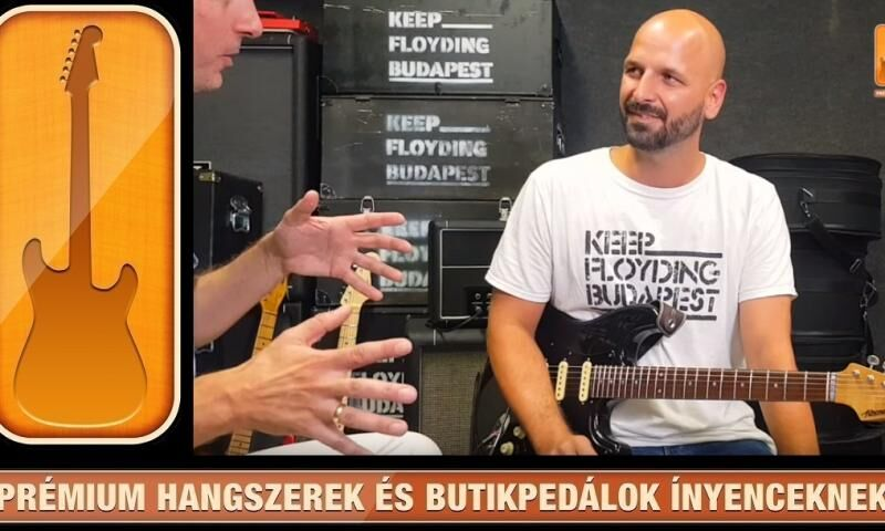 SelectGuitars 2019 - Legendák magyar szemmel 4. epizód
